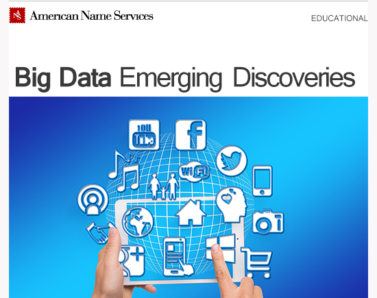 Big Data Emerging Discoveries
